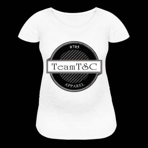 TeamTSC Badge - Women's Maternity T-Shirt