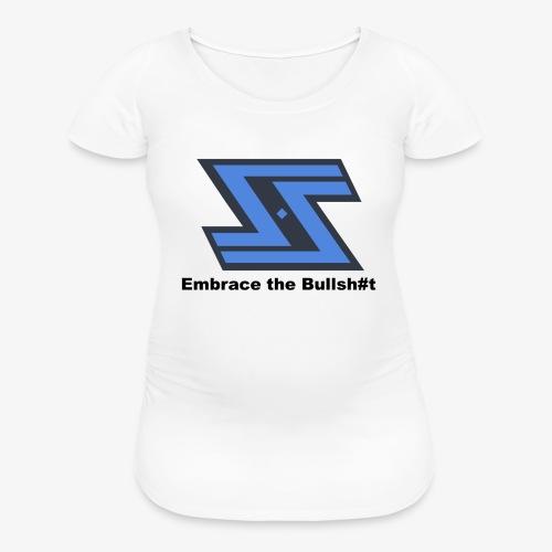 Sir Swag official logo design - Women's Maternity T-Shirt