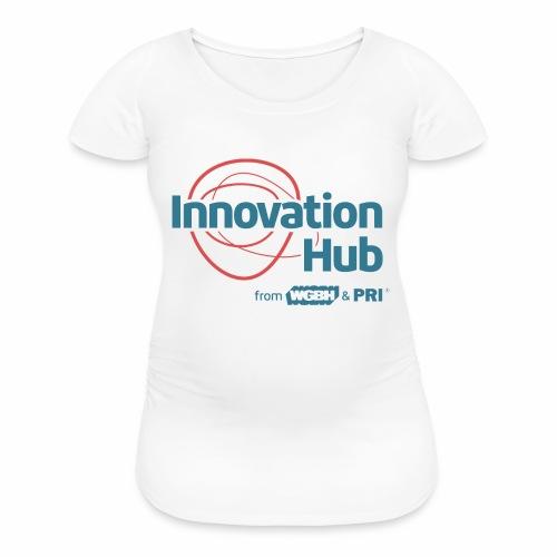Innovation Hub color logo - Women's Maternity T-Shirt