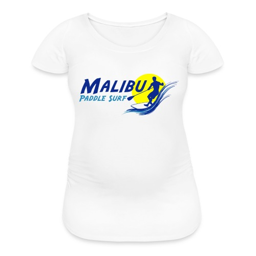 Malibu Paddle Surf T-shirts Hats Hoodies - Women's Maternity T-Shirt