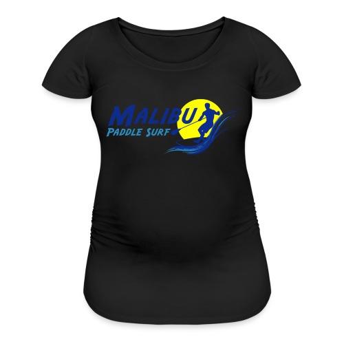 Malibu Paddle Surf T-shirts Hats Hoodies - Women's Maternity T-Shirt