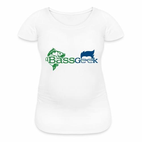 BassGeek Logo - Women's Maternity T-Shirt
