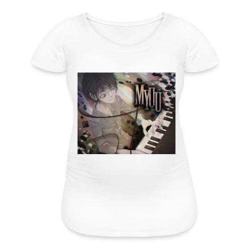 Dark Piano 1 - Women's Maternity T-Shirt