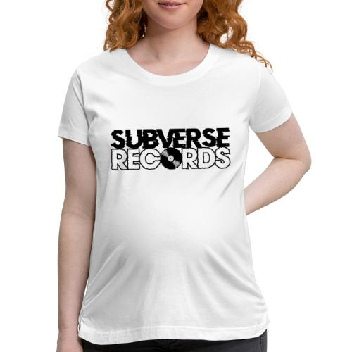 Subverse Records Merchandise - Women's Maternity T-Shirt