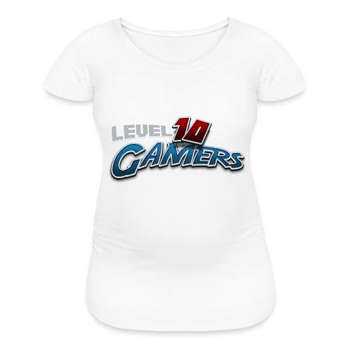 Level10Gamers Logo - Women's Maternity T-Shirt