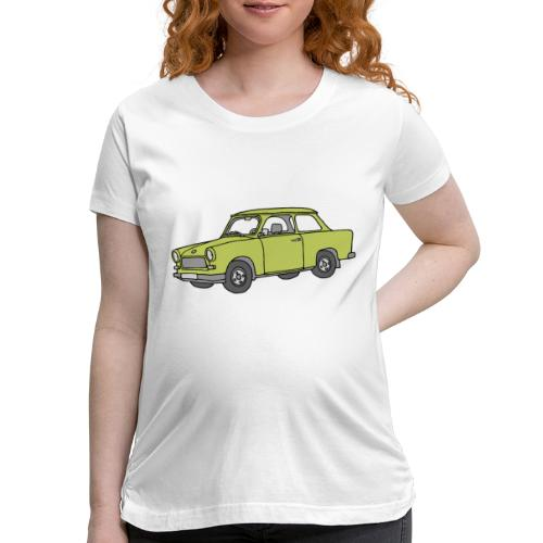 Trabant (baligreen car) - Women's Maternity T-Shirt