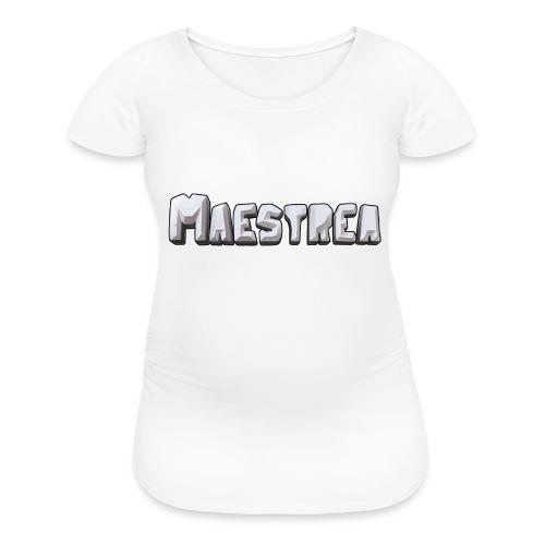 logoText - Women's Maternity T-Shirt