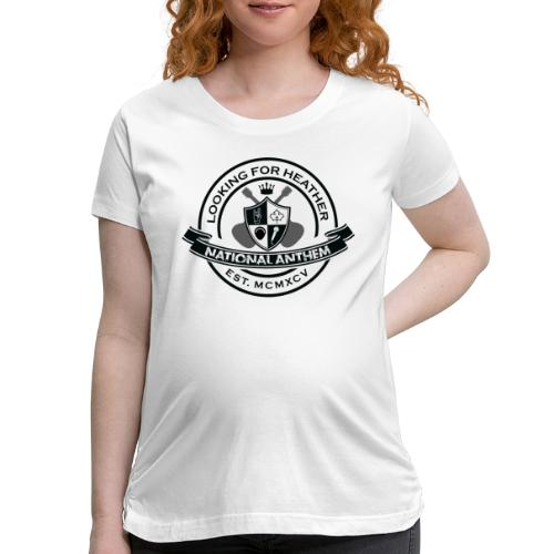 Looking For Heather - National Anthem Crest - Women's Maternity T-Shirt