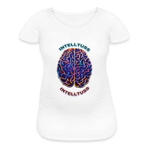 IntellTuss Shirt (pocket design) - Women's Maternity T-Shirt