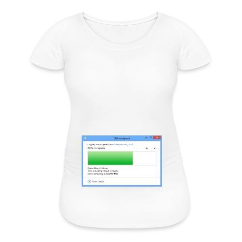 6 Months Pregnant (3 Months Remaining) - Women's Maternity T-Shirt