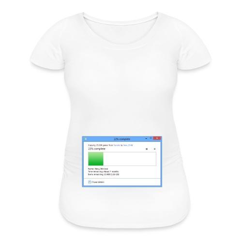 2 Months Pregnant (7 Months Remaining) - Women's Maternity T-Shirt