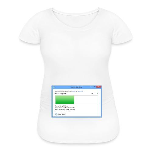 4 Months Pregnant (5 Months Remaining) - Women's Maternity T-Shirt
