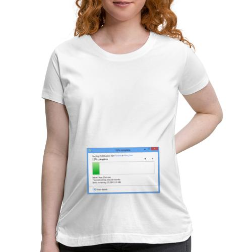 1 Month Pregnant (8 Months Remaining) - Women's Maternity T-Shirt