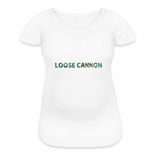 Loose Cannon Floral - Women's Maternity T-Shirt