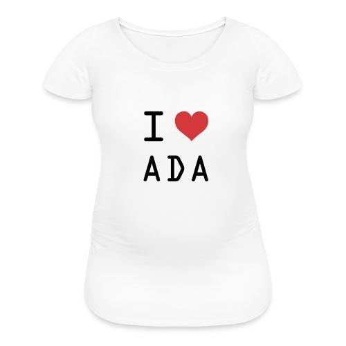I HEART ADA (Cardano) - Women's Maternity T-Shirt