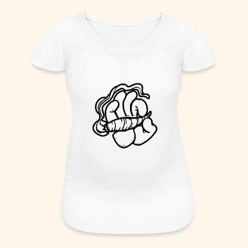 SMOKING HAND - HOODIE / SHIRT - Women's Maternity T-Shirt