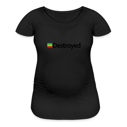 Polaroid Destroyed - Women's Maternity T-Shirt