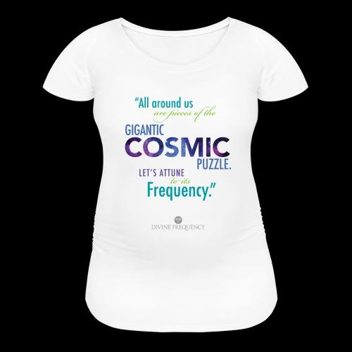 Cosmic Puzzle Mug - Women's Maternity T-Shirt