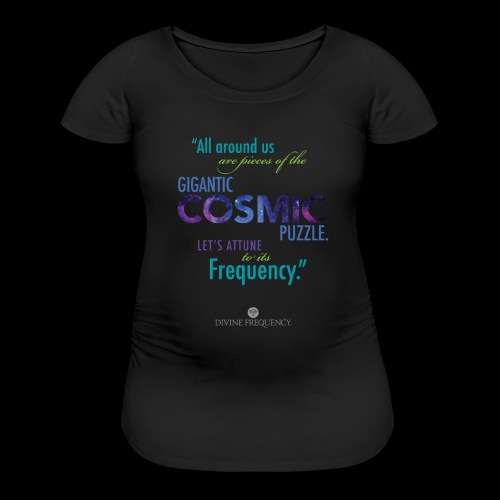 Cosmic Puzzle Mug - Women's Maternity T-Shirt
