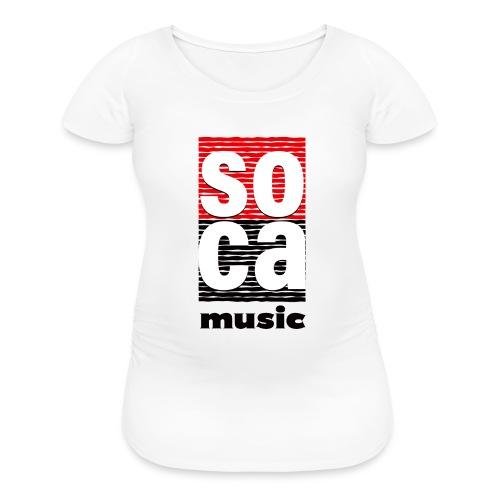 Soca music - Women's Maternity T-Shirt