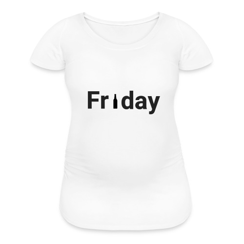 Friday custom print tshirt for men - Women's Maternity T-Shirt