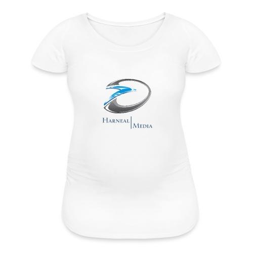 Harneal Media Logo Products - Women's Maternity T-Shirt