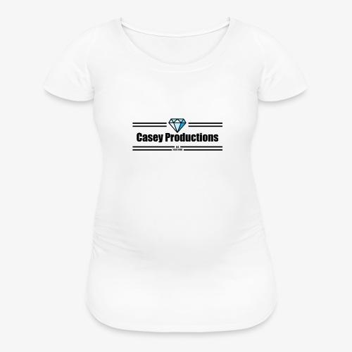 Black Casey Productions Design - Women's Maternity T-Shirt
