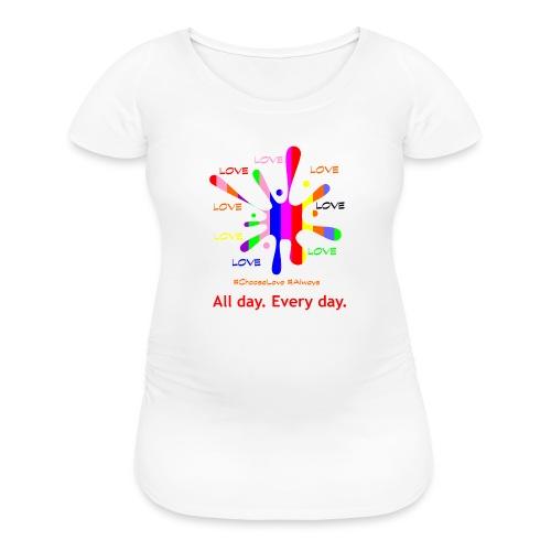 Love 2 - Women's Maternity T-Shirt