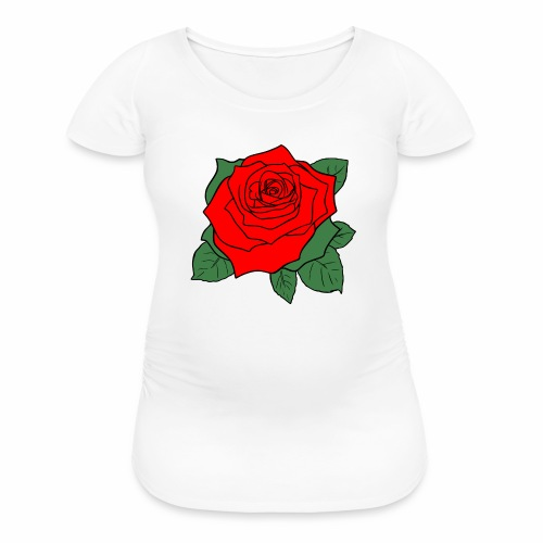 rose2d - Women's Maternity T-Shirt