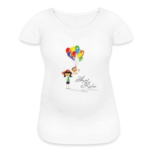 Aunt Rules - Women's Maternity T-Shirt
