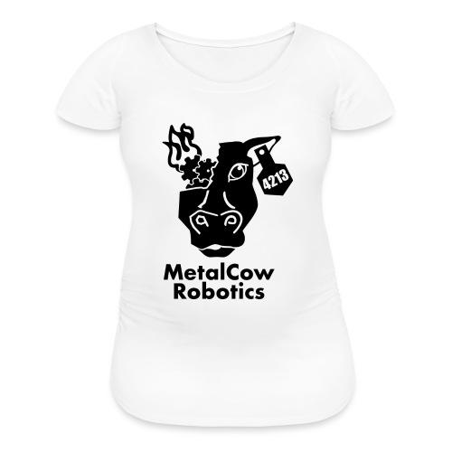 MetalCow Solid - Women's Maternity T-Shirt