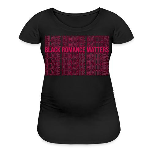 Black Romance Matters Grocery Bag tee - Women's Maternity T-Shirt