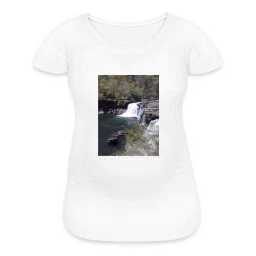 LRC waterfall - Women's Maternity T-Shirt