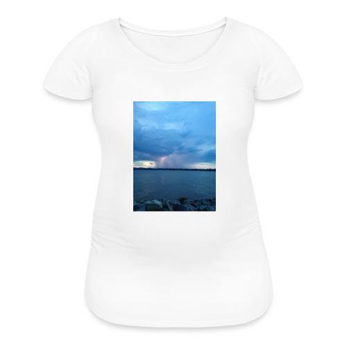 Storm Fall - Women's Maternity T-Shirt