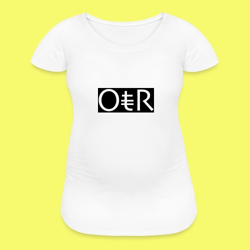 OntheReal ladylike - Women's Maternity T-Shirt