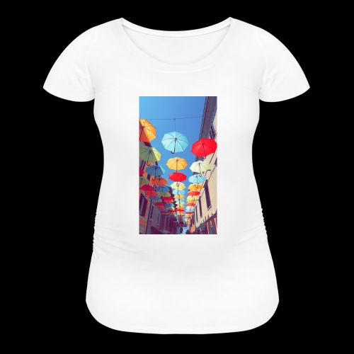 139357EB 02AB 4932 97DC FB71E36DE68A - Women's Maternity T-Shirt