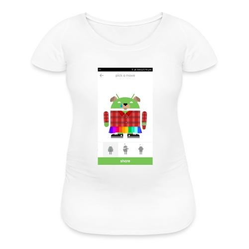 google cool - Women's Maternity T-Shirt