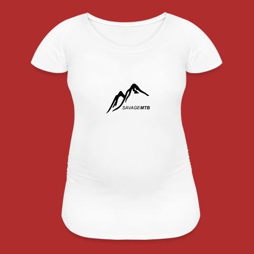 Savage MTB original - Women's Maternity T-Shirt