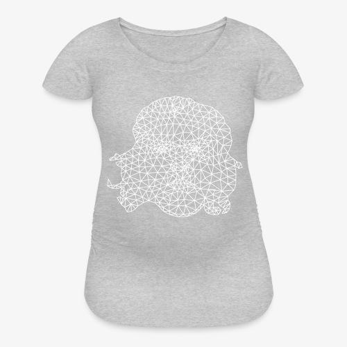 White Che - Women's Maternity T-Shirt