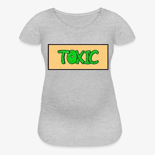 Toxic design v2 Orange - Women's Maternity T-Shirt