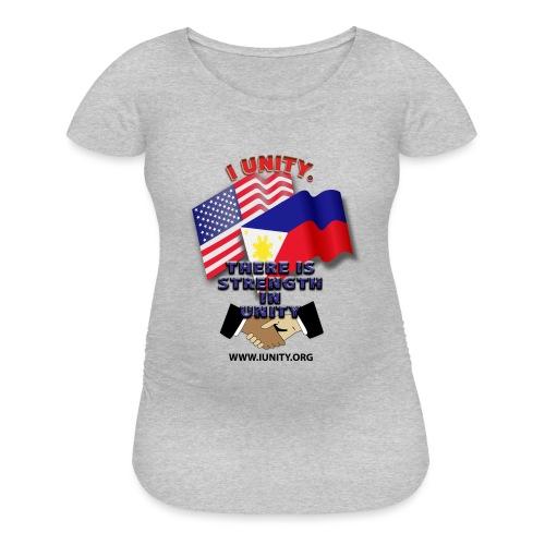 UnityPhilippinoUSA E02 - Women's Maternity T-Shirt