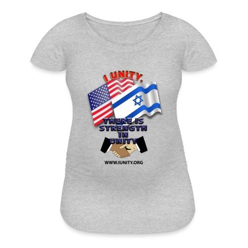 ISRAEL USA E02 - Women's Maternity T-Shirt