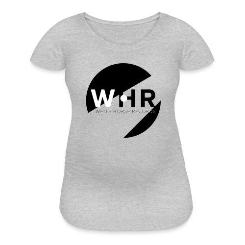 White Horse Records Logo - Women's Maternity T-Shirt