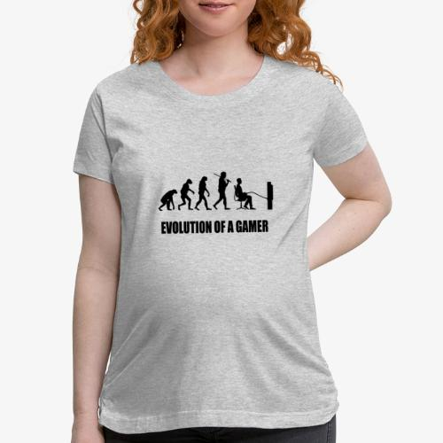 Gaming Evolution - Women's Maternity T-Shirt