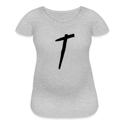T as in LOYALTY shirt - Women's Maternity T-Shirt