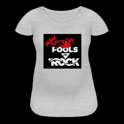 Fool design - Women's Maternity T-Shirt