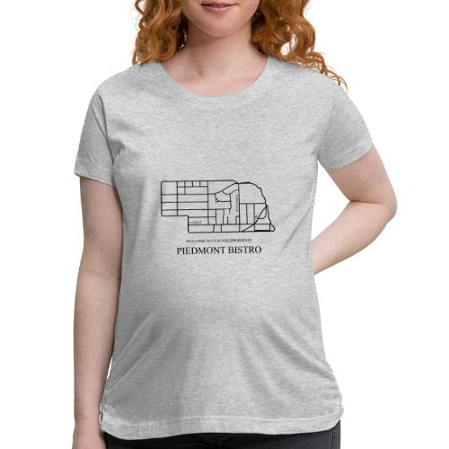 Welcome to Our Neighborhood by Emily - Women's Maternity T-Shirt