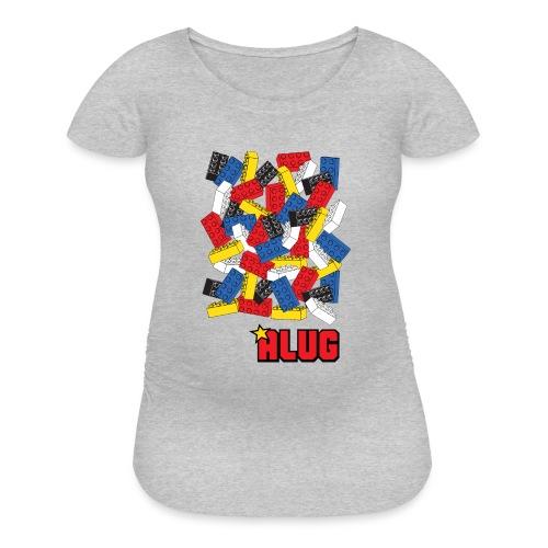 Brick03Colour - Women's Maternity T-Shirt