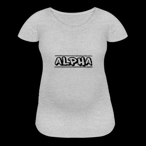 Alpha Design - Women's Maternity T-Shirt