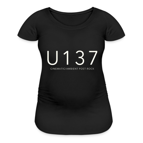 U137 LOGO - Women's Maternity T-Shirt